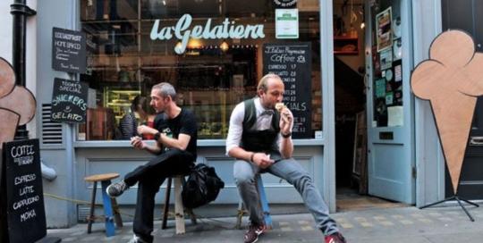 Our Customers ,La gelatiera-londra
