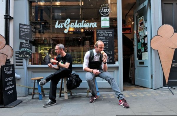 Our Customers ,La gelatiera-londra